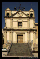 Leonforte.  Chiesa SS. Annunziata. 1740  - Leonforte (5669 clic)