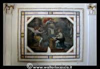 Troina: Oratorio del Rosario ( XVIII/XIX sec. ):Particolare di pittura.  - Troina (1148 clic)
