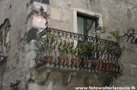 Balcone tipico a Taormina.  - Taormina (3118 clic)