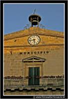 Enna: Municipio. Prospetto.  - Enna (1974 clic)