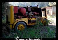 Caltanissetta: Miniera Trabonella. Reportage sulle miniere di zolfo di Caltanissetta.Vecchie attrezzature abbandonate.  - Caltanissetta (2477 clic)