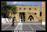 Gibellina: Piazza dei fasci dei lavoratori di Gibellina.  - Gibellina (3495 clic)