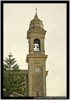 Nicolosi: Campanile della Chiesa Santa Maria delle Grazie. Secolo 1884.  - Nicolosi (3366 clic)