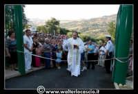 Gagliano Castelferrato: 01 Luglio 2007. Inaugurazione delle nuove Piscine NAIADI. La benedizione prima del taglio del nastro.  - Gagliano castelferrato (2466 clic)