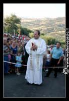 Gagliano Castelferrato: 01 Luglio 2007. Inaugurazione delle nuove Piscine NAIADI. La benedizione prima del taglio del nastro.  - Gagliano castelferrato (2086 clic)