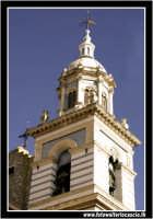 Caltanissetta: Campanile della chiesa San Sebastiano.Vista da Via Palermo. CALTANISSETTA Walter Lo C