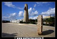 Gibellina: Piazza Caduti di Nassiriya. 12-11-2003  - Gibellina (2246 clic)