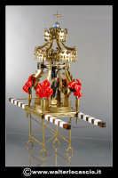 Caltanissetta: Il Cristo Nero Riproduzione in miniatura del Cristo Nero. Materiali utilizzati Rame