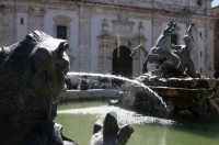 Fontana del tritone in piazza Garibaldi.  - Caltanissetta (3326 clic)