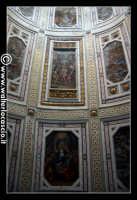 Troina: Oratorio del Rosario (XVIII/XIX sec. ): Particolare di pittura nella volta.  - Troina (1494 clic)