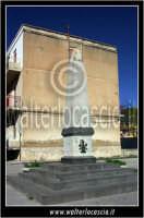 Caltanissetta: Villaggio Santa Barbara. MOnumento del Minatore.  - Caltanissetta (2602 clic)