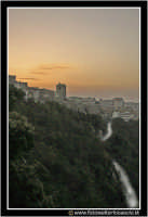 Enna: Panorama Ennese al tramonto.  - Enna (3225 clic)
