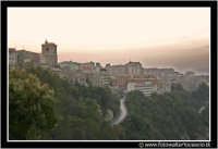 Enna: Panorama Ennese al tramonto #2  - Enna (3269 clic)
