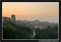 Enna: Panorama Ennese al tramonto #3  - Enna (3272 clic)