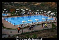 Gagliano Castelferrato: 01 Luglio 2007. Inaugurazione delle nuove Piscine NAIADI. Vista dall'alto del parco acquatico.  - Gagliano castelferrato (2382 clic)