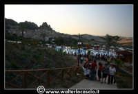Gagliano Castelferrato: 01 Luglio 2007. Inaugurazione delle nuove Piscine NAIADI. Scorcio del parco con sfondo del paese di Gagliano Castelferrato.  - Gagliano castelferrato (1749 clic)