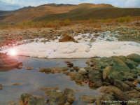 Il sale sul letto del fiume Salso.  - Caltanissetta (4934 clic)