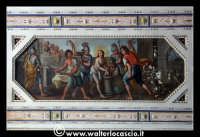Troina: Oratorio del Rosario ( XVIII/XIX sec. ): Particolare di pittura.  - Troina (1178 clic)