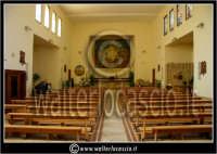 Caltanissetta: Villaggio Santa Barbara. Chiesa di Santa Barbara. Interno.  - Caltanissetta (1774 clic)