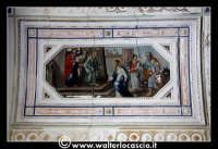 Troina: Oratorio del Rosario ( XVIII/XIX sec. ): Particolare di pittura.  - Troina (1239 clic)
