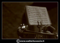 Pietraperzia. Venerdi' Santo 21-03-2008. U Signuri di li fasci.  Spartito Musicale Foto Walter Lo C