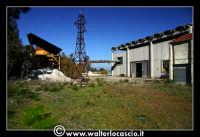 Caltanissetta: Miniera Trabonella. Reportage sulle miniere di zolfo di Caltanissetta.Vecchie attrezzature abbandonate.  - Caltanissetta (1940 clic)