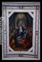 Troina: Oratorio del Rosario ( XVIII/XIX sec. ): Particolare di pittura.  - Troina (1362 clic)