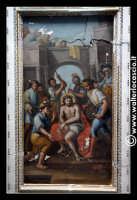 Troina: Oratorio del Rosario ( XVIII/XIX sec. ): Particolare di pittura.  - Troina (1372 clic)