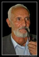 Calascibetta: Il presidente Sig. Amaranto con la pipa. Presidente della SOCIETA' Nazionale combattenti.  - Calascibetta (4640 clic)
