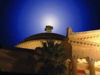 Particolare del Teatro Massimo. PALERMO Walter Lo Cascio