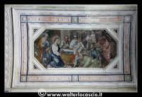 Troina: Oratorio del Rosario ( XVIII/XIX sec ): Particolare di pittura.  - Troina (1536 clic)