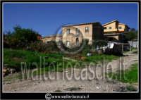 Caltanissetta: Villaggio Santa Barbara. Case del villaggio.  - Caltanissetta (1772 clic)