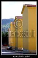 Caltanissetta: Villaggio Santa Barbara. Abitazioni del villaggio.  - Caltanissetta (1827 clic)