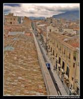 Palermo: Via Maqueda, lato nord. PALERMO Walter Lo Cascio