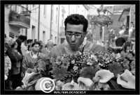Caltanissetta. Settimana Santa a Caltanissetta. Anno 2006. Venerdi'Santo a Caltanissetta. La process