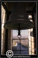 Sutera. Particolare della campana in cima al paese.  - Sutera (1621 clic)