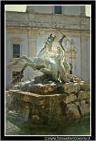 Caltanissetta: Fontana del tritone in piazza Garibaldi.  - Caltanissetta (3234 clic)