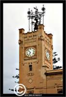 Licata: Piazza Progresso. La torre dell'orologio del Palazzo di Citta'.  - Licata (2020 clic)
