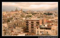 Palermo: Panorama del centro storico. Tramonto. PALERMO Walter Lo Cascio