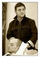 Caltanissetta. Andrea Minacore e Andrea. Barbiere. Il barbiere di Maonza.  - Caltanissetta (2857 clic)