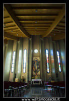 Caltanissetta. Nuova Chiesa di San Paolo a Caltanissetta. Parrocchia di San Paolo in Via Don Minzoni, Caltanissetta.  Foto Walter Lo Cascio www.walterlocascio.it  - Caltanissetta (1658 clic)