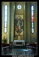 Caltanissetta. Nuova Chiesa di San Paolo a Caltanissetta. Parrocchia di San Paolo in Via Don Minzoni, Caltanissetta. L'altare. Foto Walter Lo Cascio www.walterlocascio.it  - Caltanissetta (1854 clic)