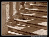 Palermo: Scalinata della chiesa di Santa Caterina. PALERMO Walter Lo Cascio