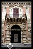 Licata: Palazzo Frangipane, XVIII sec, sede della Banca Popolare Sant'Angelo  - Licata (2330 clic)