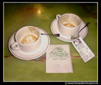 Palermo: Cappuccini al Bar Mazzara. Antico bar palermitano. PALERMO Walter Lo Cascio