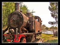 Marsala: Locomotiva d'epoca.  - Marsala (3286 clic)