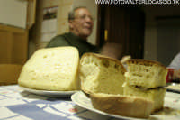 Pani e cumpanaggiu, pane e formaggio.  - Agira (7560 clic)