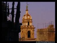 Campanile della chiesa S.Domenico. Visto daun balcone della Via S. Agostino. PALERMO Walter Lo Casci