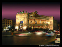 Teatro Politeama. Foto Walter Lo Cascio www.walterlocascio.it  Walter Lo Cascio  - Palermo (29353 clic)