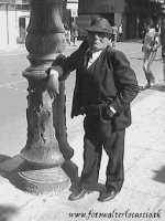L'appoggio di un viandante. PALERMO Walter Lo Cascio